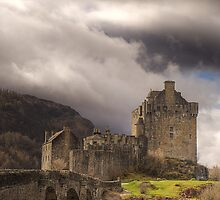 Storm Clouds over Eilean Donan Castle by Colin Mill