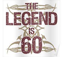 Men's Funny 60th Birthday Poster