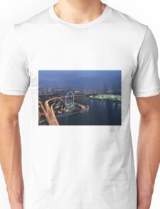 Singapore Flyer - View from SkyPark at Night Unisex T-Shirt