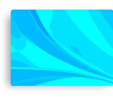 Abstract blue composition Canvas Print