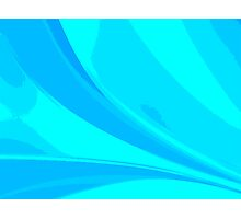Abstract blue composition Photographic Print