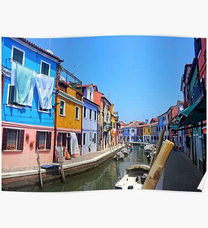 Venice Island Poster
