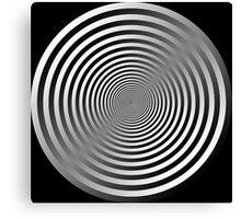 Abstract circles Canvas Print