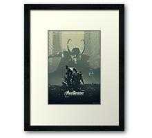 The Avengers Framed Print