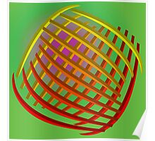 Abstract curves Poster