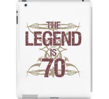 Men's Funny 70th Birthday iPad Case/Skin