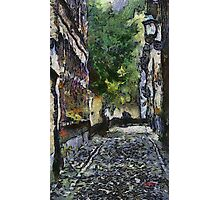 Lier Beguinage - Small street - Belgium Photographic Print