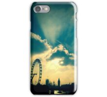Westminster sunset iPhone Case/Skin