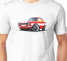 Ford Escort (Mk1) RS2000 Red Unisex T-Shirt