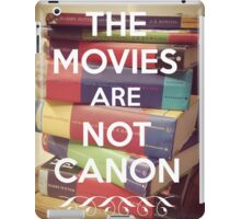 The Movies Are Not Canon iPad Case/Skin