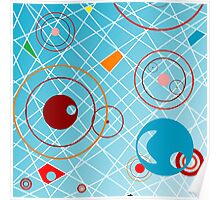 Abstract objects Poster