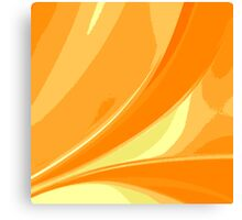 Abstract orange background Canvas Print