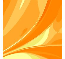 Abstract orange background Photographic Print
