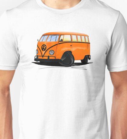 VW Splitty (15 Window) Camper (B) Unisex T-Shirt