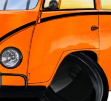 VW Splitty (15 Window) Camper (B) Sticker
