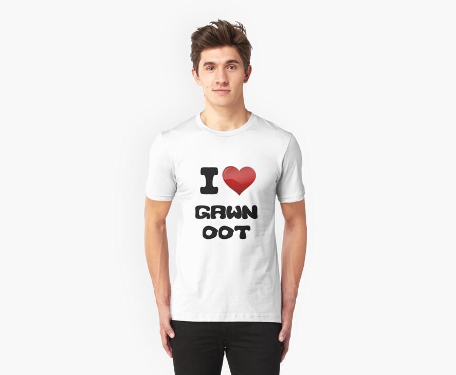 I Love Gawn Oot by thatdavieguy