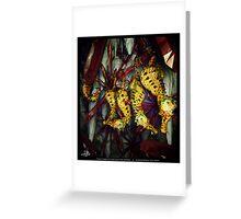 Ocean Invasion #4: Crystal Cave of the Landhorse Greeting Card