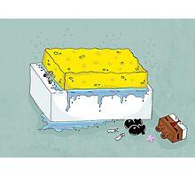 Spongebath Photographic Print
