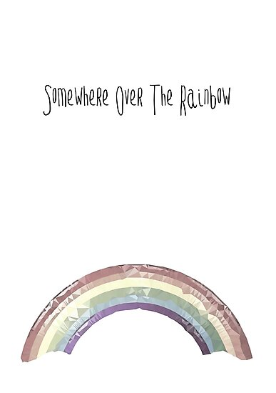 Over the rainbow by Happy Thoughts