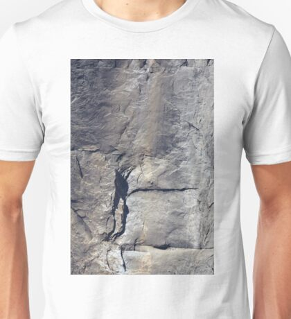 El Capitan Cliff Face, Yosemite, USA. Unisex T-Shirt