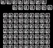 Alphabet buttons collection by Laschon Robert Paul