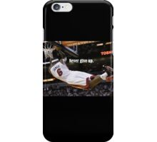 LeBron James  - Never give up iPhone Case/Skin