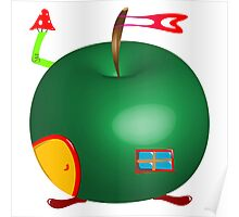 Apple house Poster