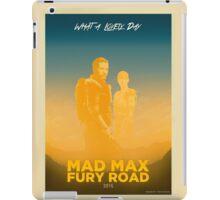 MAD MAX: FURY ROAD iPad Case/Skin