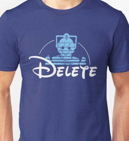 Delete Unisex T-Shirt