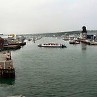 THE COWES FLOATING BRIDGE. by ronsaunders47