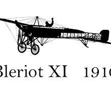 Bleriot XI (Model 1910) by Holger Mader