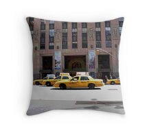 Posterized Avenue  Throw Pillow