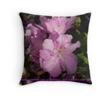 Random Acts Throw Pillow