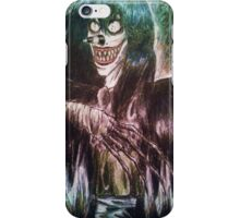 Laughing Jack creepypasta design iPhone Case/Skin