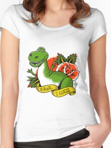 Rawr? Women's Fitted Scoop T-Shirt