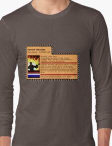 G.I.joe File card Long Sleeve T-Shirt