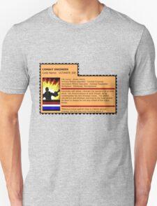 G.I.joe File card Unisex T-Shirt