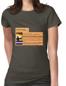 G.I.joe File card Womens Fitted T-Shirt