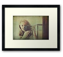 I See Through You Framed Print