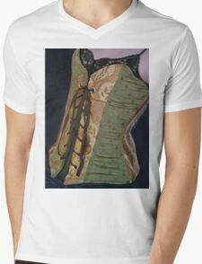 Corset Girl 4 Mens V-Neck T-Shirt
