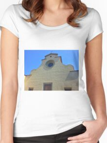 Cathedral without Facade Women's Fitted Scoop T-Shirt