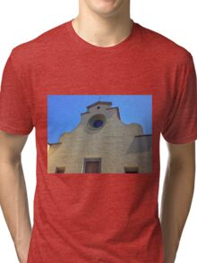 Cathedral without Facade Tri-blend T-Shirt