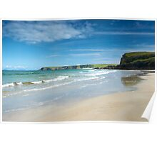 Tolsta beach, Isle of Lewis Poster