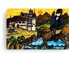Ride on Rider Canvas Print
