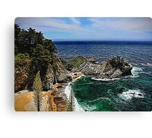 McWay Cove Painted Canvas Print