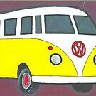 VW  peace bus  by RootRock