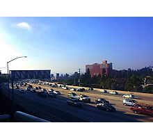 Rush Hour in Los Angeles Photographic Print