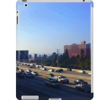 Rush Hour in Los Angeles iPad Case/Skin