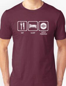 Eat Sleep Catch Unisex T-Shirt