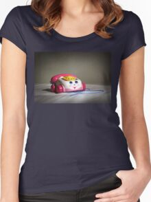 first mobile phone Women's Fitted Scoop T-Shirt